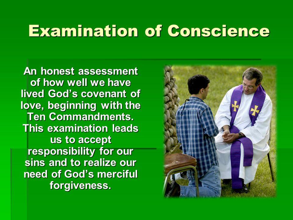 Examination of Conscience