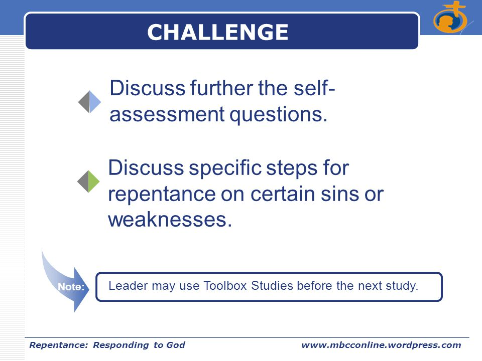 Discuss further the self-assessment questions.