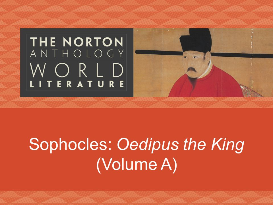 Sophocles: Oedipus the King (Volume A)