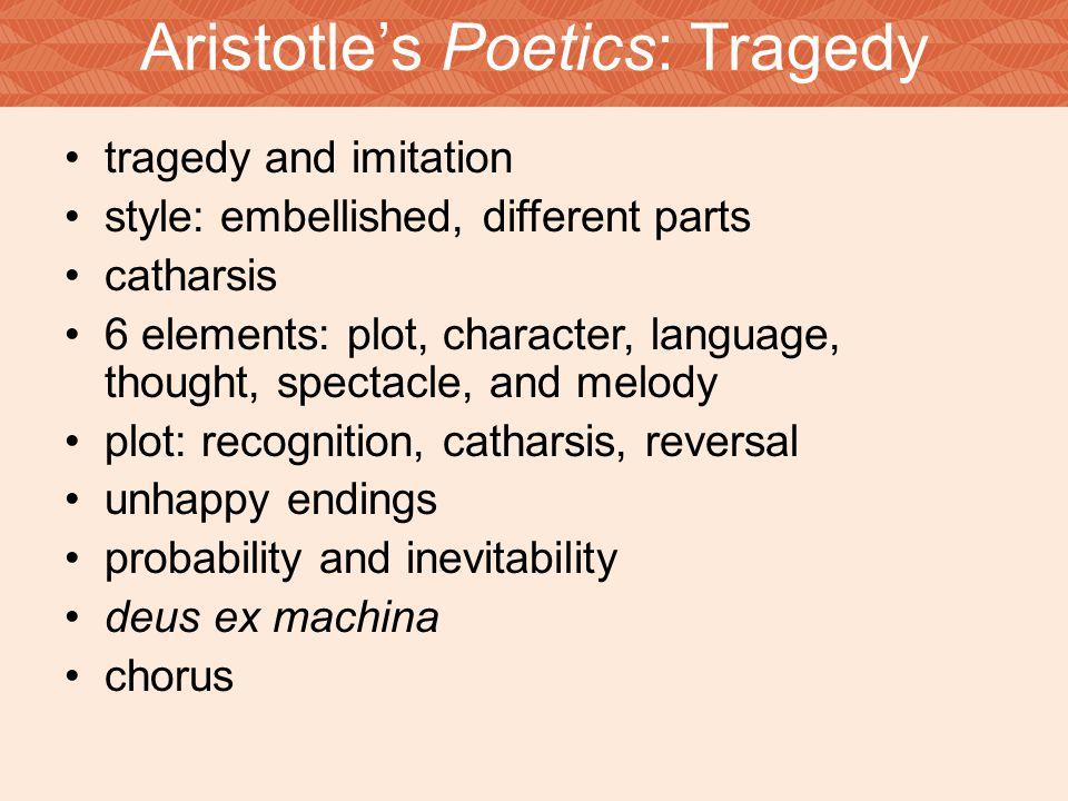 Aristotle's Poetics: Tragedy