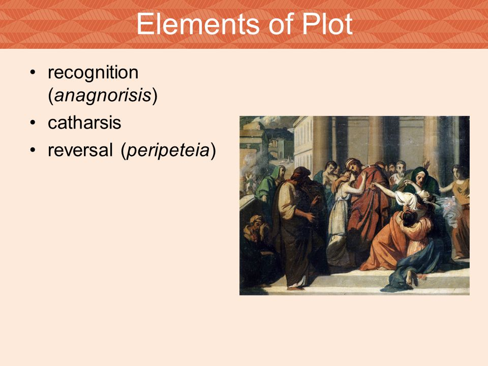 Elements of Plot recognition (anagnorisis) catharsis