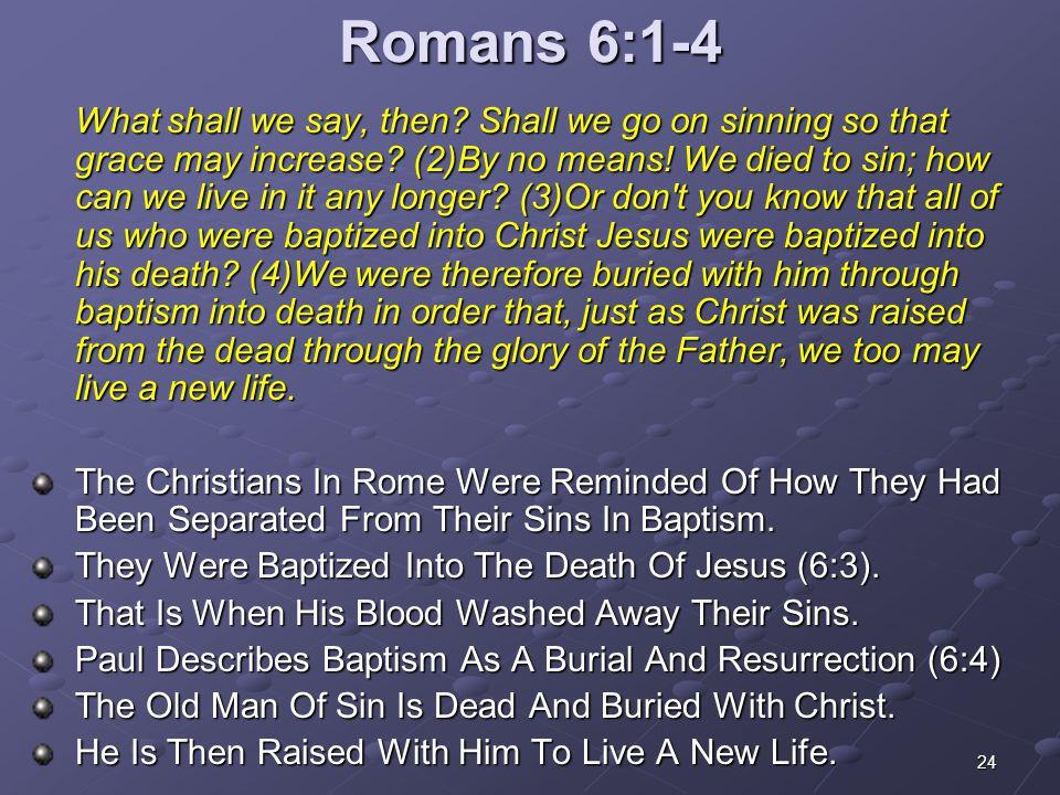 Romans 6:1-4
