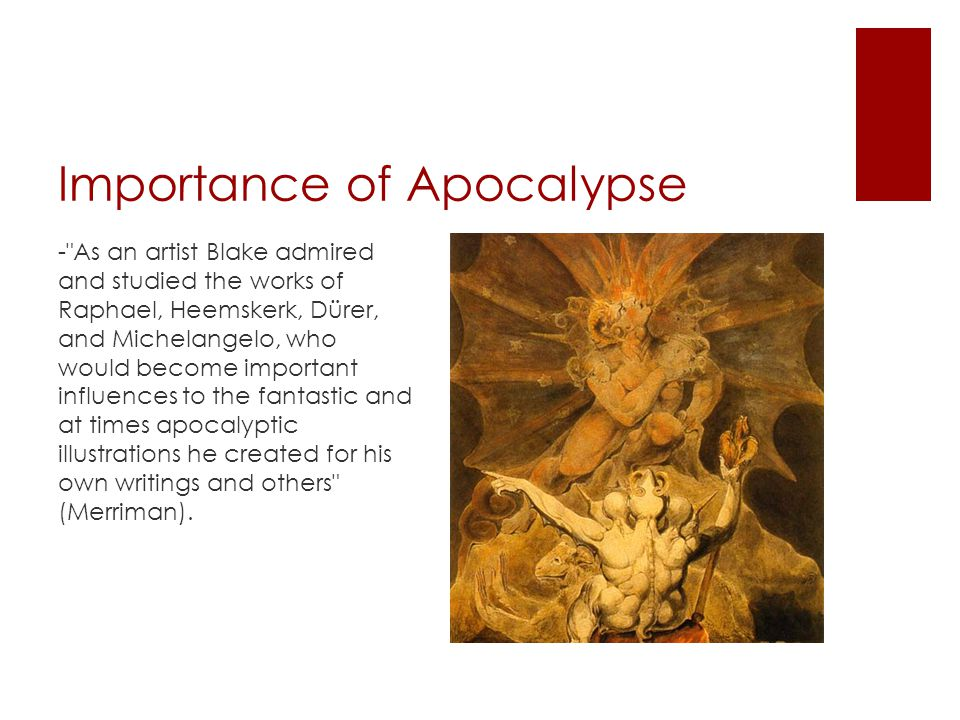Importance of Apocalypse