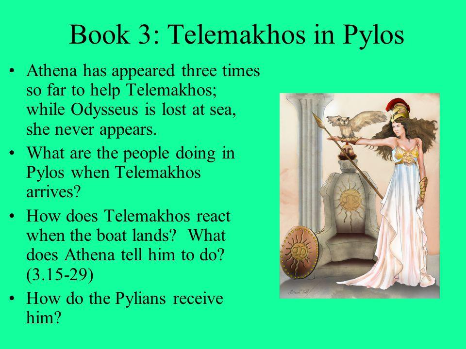 Book 3: Telemakhos in Pylos