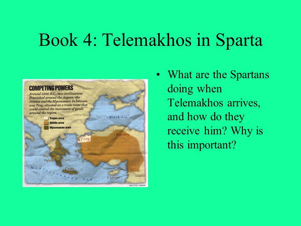 Book 4: Telemakhos in Sparta