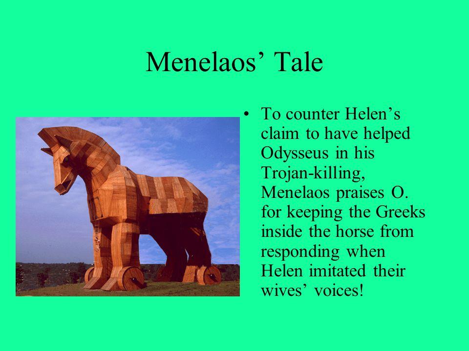 Menelaos' Tale