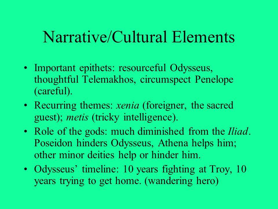 Narrative/Cultural Elements