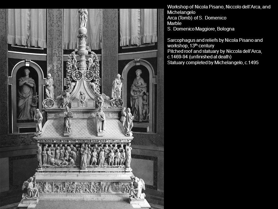 Workshop of Nicola Pisano, Niccolo dell'Arca, and Michelangelo