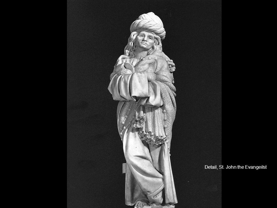Detail, St. John the Evangeilst