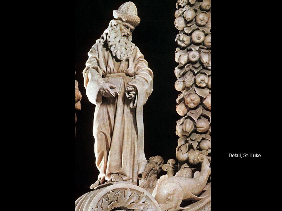 Detail, St. Luke