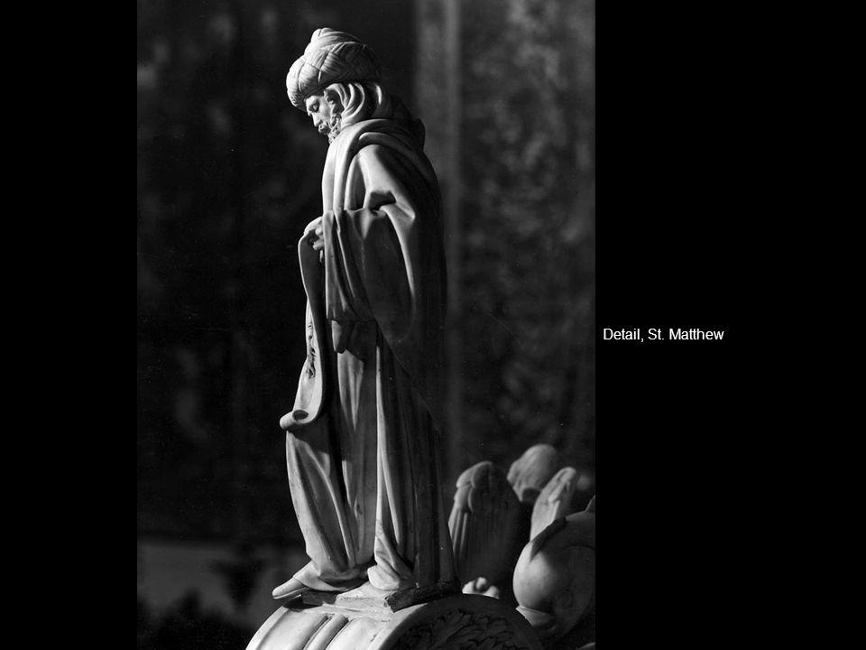 Detail, St. Matthew