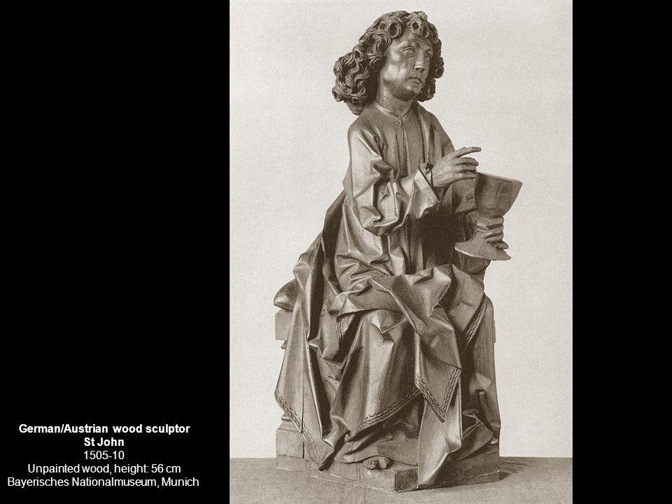 German/Austrian wood sculptor