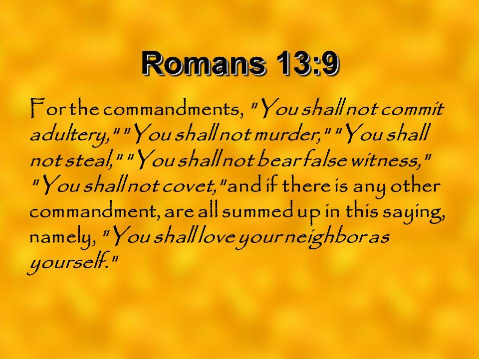 Romans 13:9