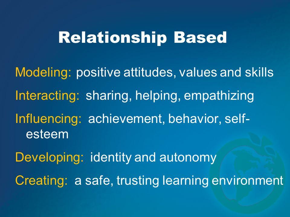 Relationship Based