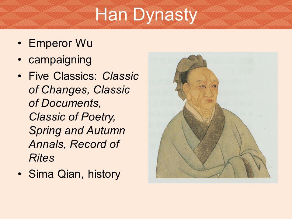 Han Dynasty Emperor Wu campaigning