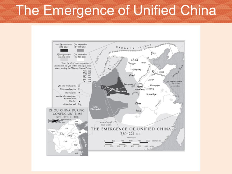 The Emergence of Unified China