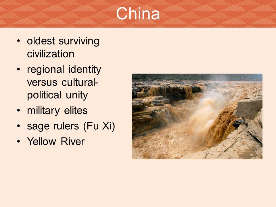 China oldest surviving civilization