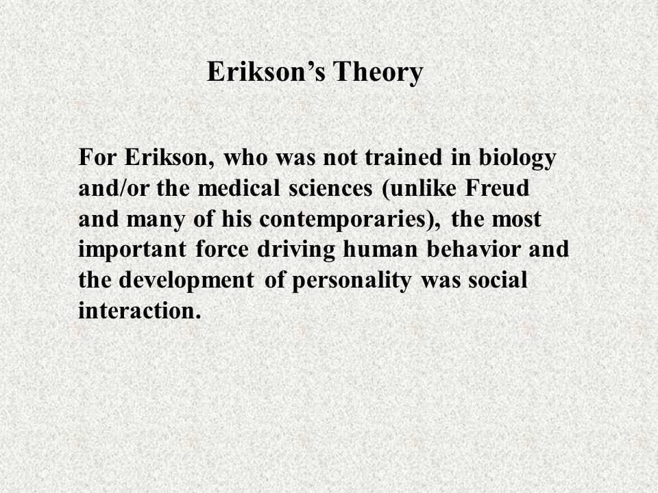 Erikson's Theory