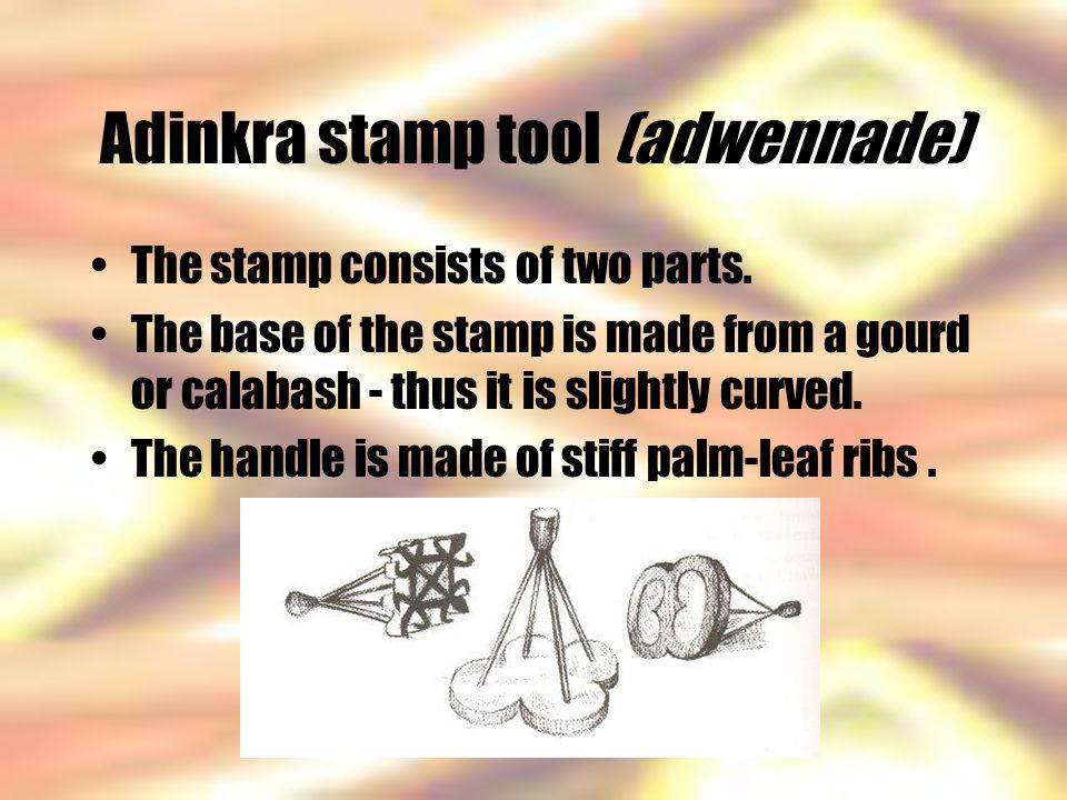 Adinkra stamp tool (adwennade)