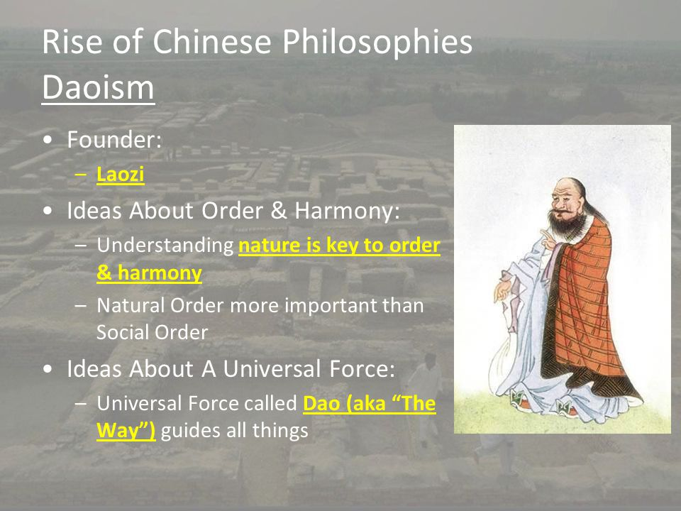 Rise of Chinese Philosophies Daoism