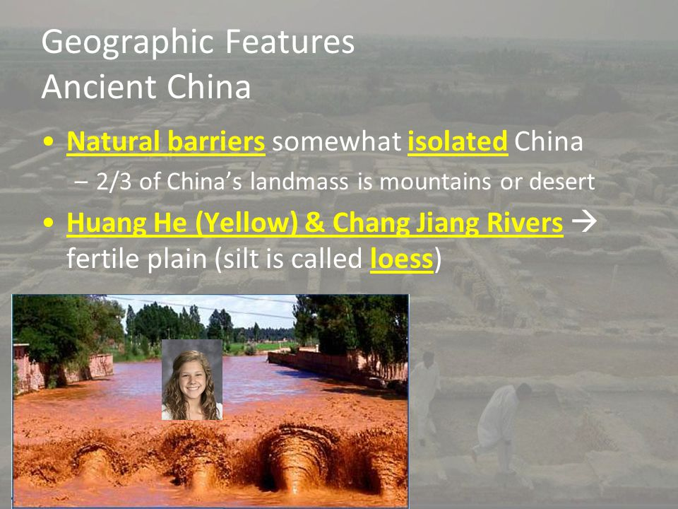 Geographic Features Ancient China