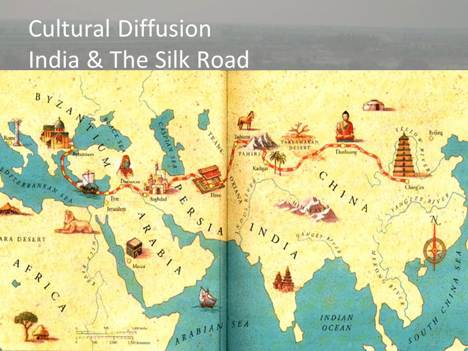 Cultural Diffusion India & The Silk Road