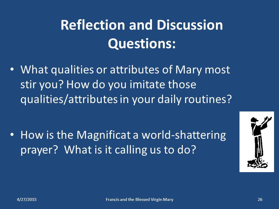 Reflection and Discussion Questions: