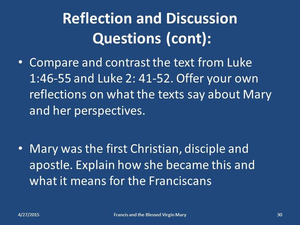 Reflection and Discussion Questions (cont):