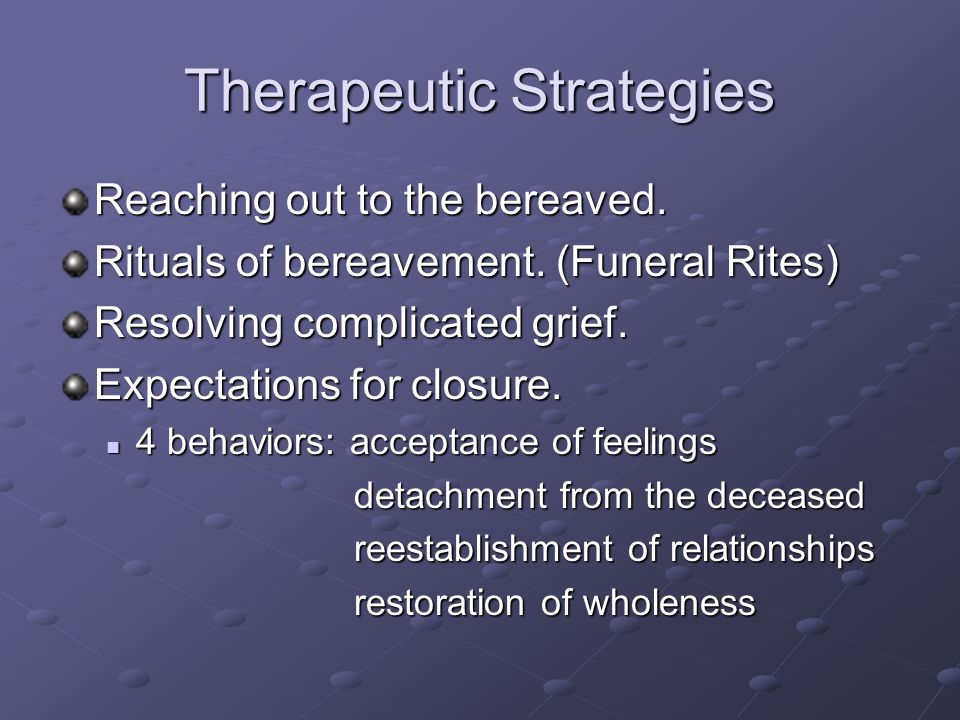 Therapeutic Strategies