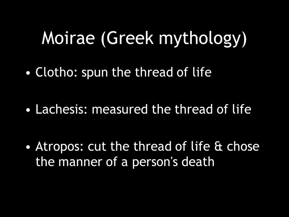 Moirae (Greek mythology)