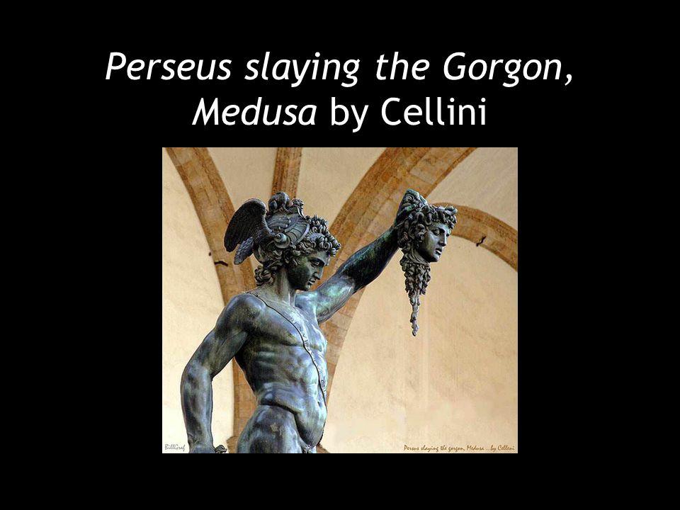 Perseus slaying the Gorgon, Medusa by Cellini