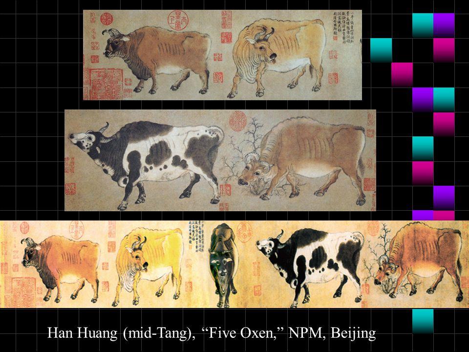 Han Huang (mid-Tang), Five Oxen, NPM, Beijing