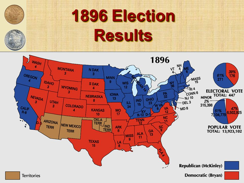 1896 Election Results