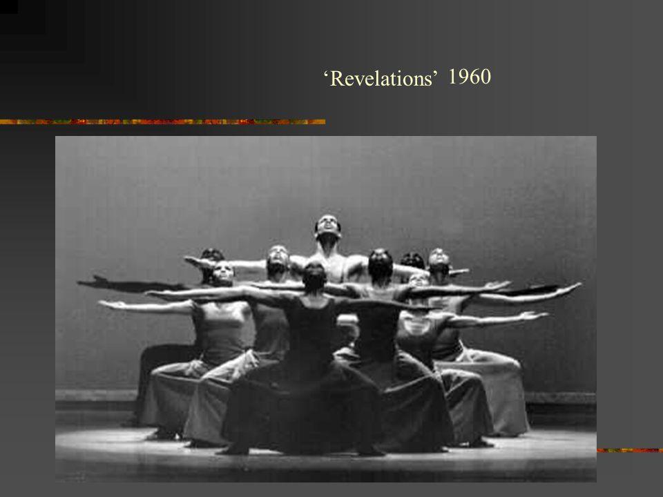 'Revelations' 1960