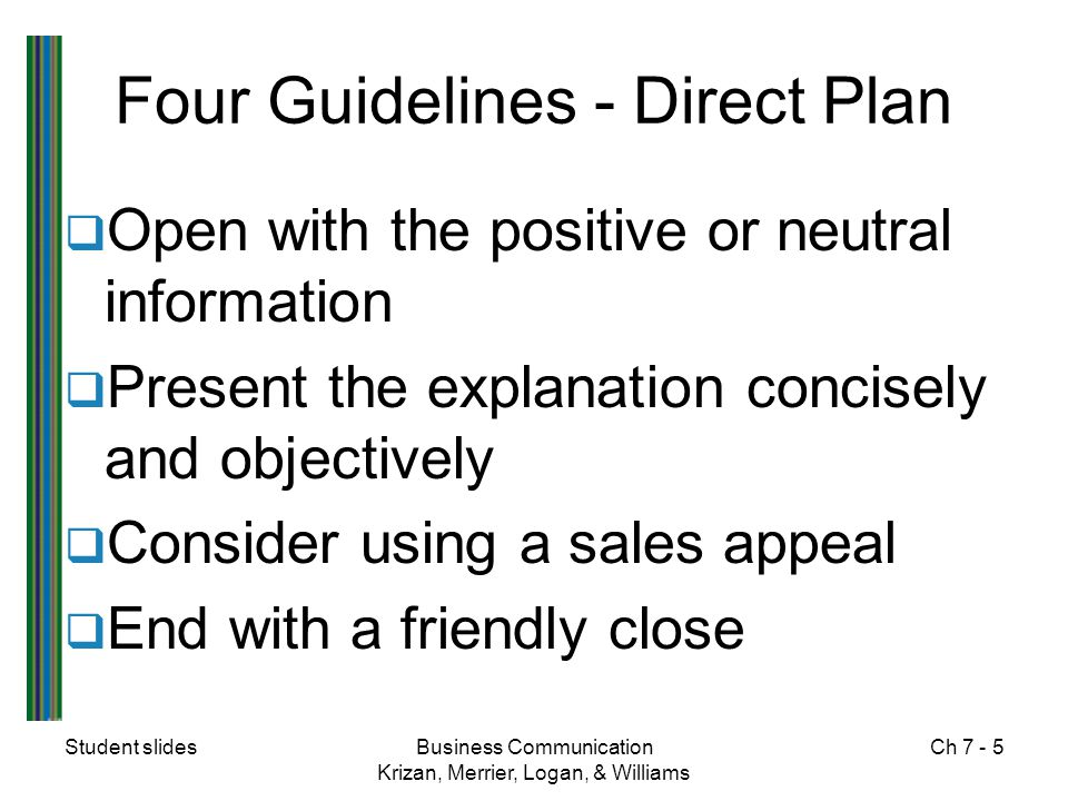 Four Guidelines - Direct Plan