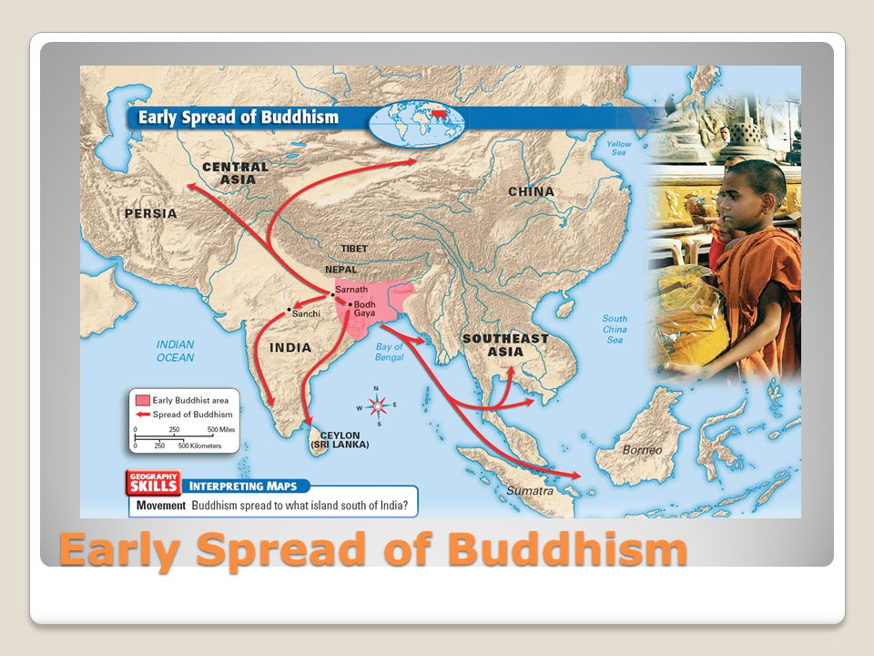 Early Spread of Buddhism