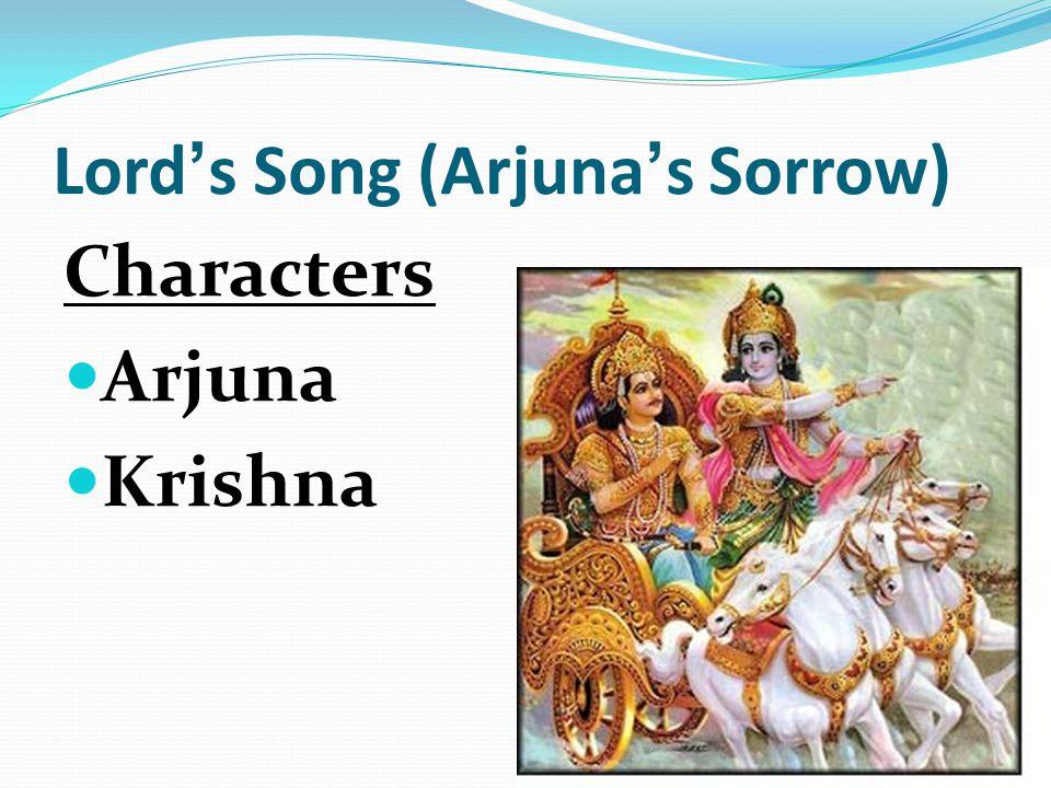 Lord's Song (Arjuna's Sorrow)