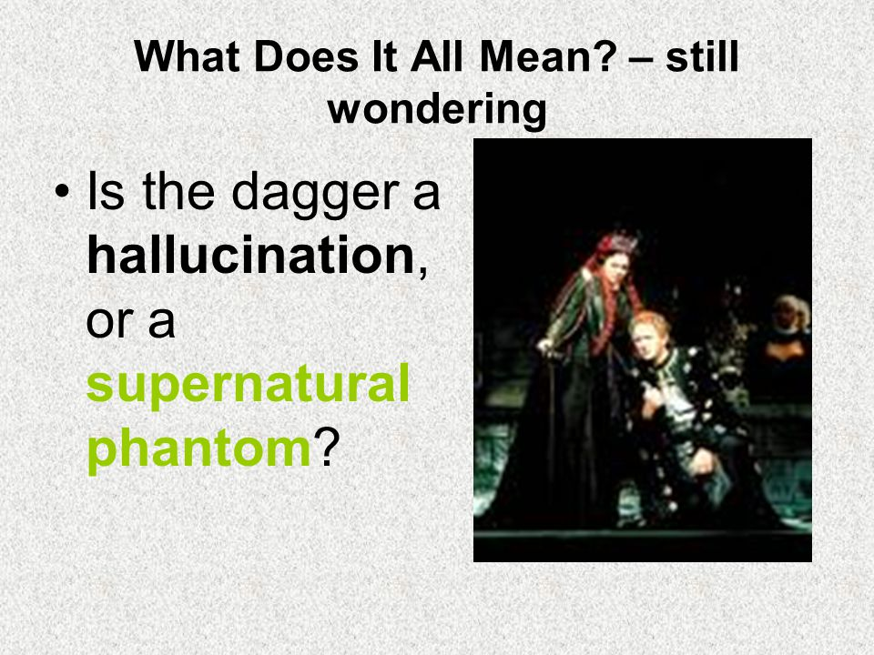 What Does It All Mean – still wondering
