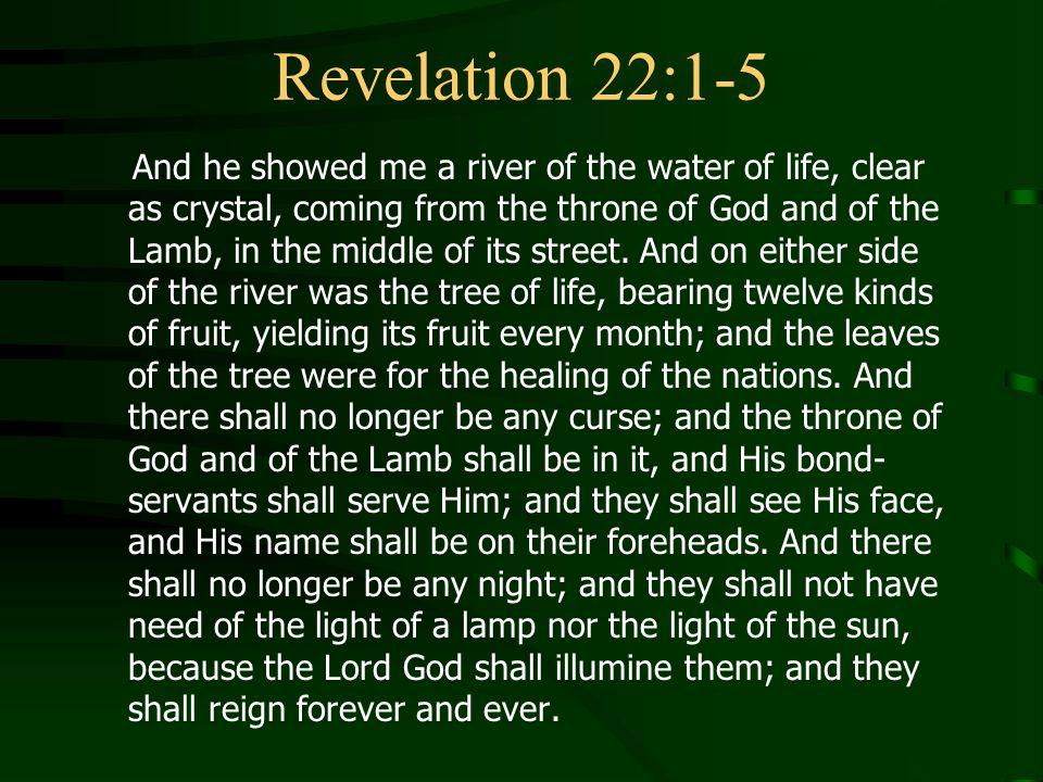 Revelation 22:1-5