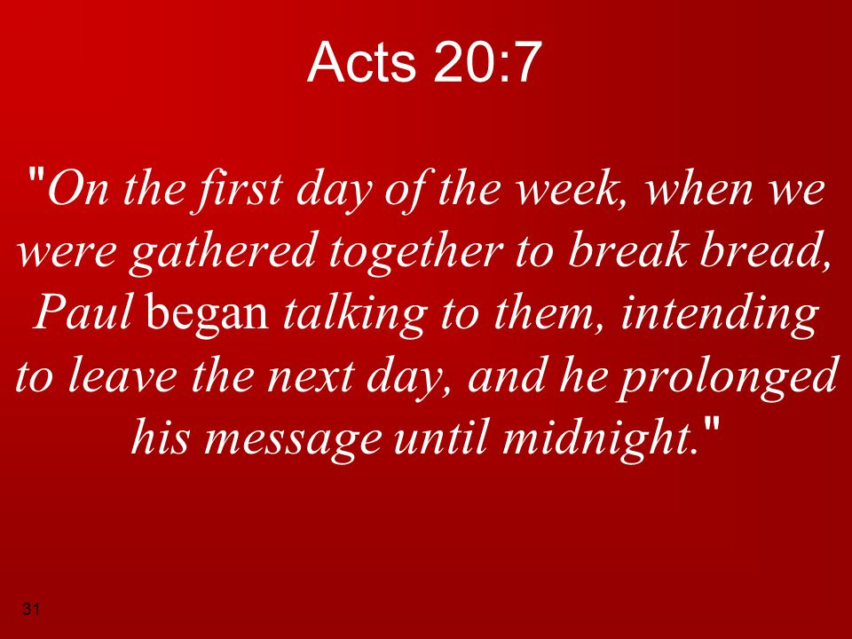 Acts 20:7