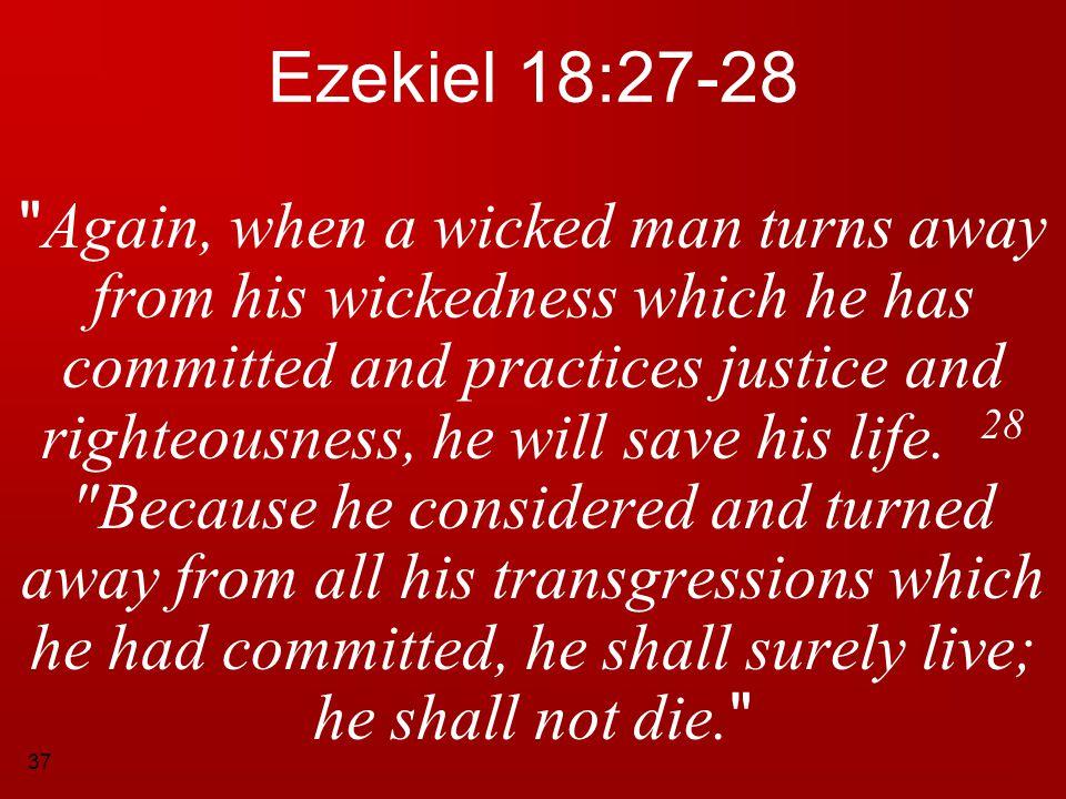 Ezekiel 18:27-28