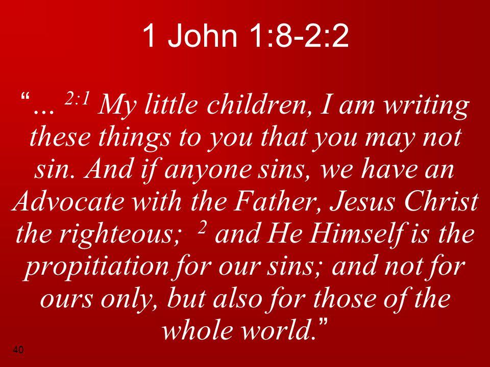 1 John 1:8-2:2