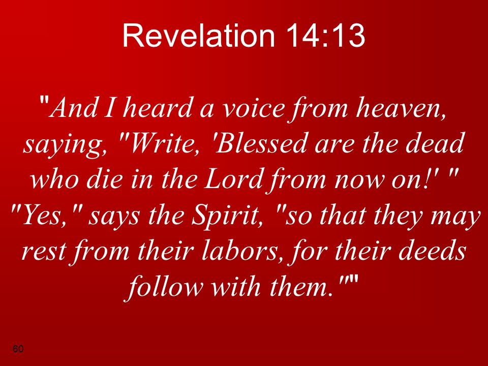 Revelation 14:13