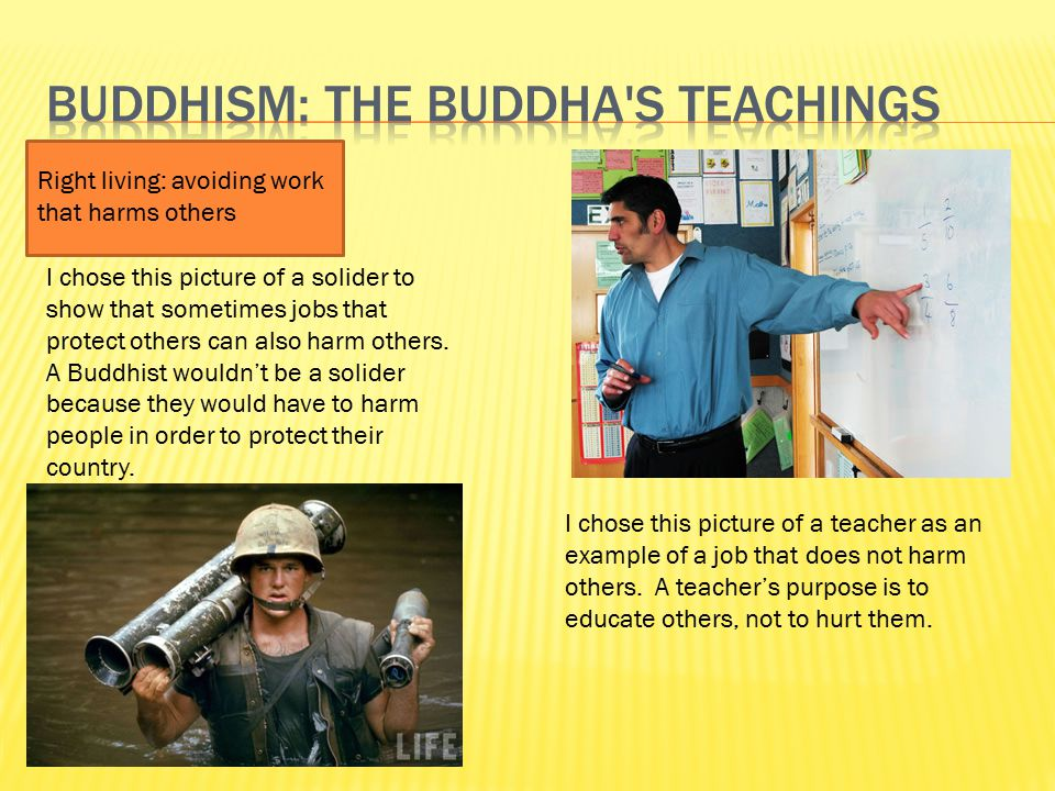 Buddhism: the Buddha s teachings
