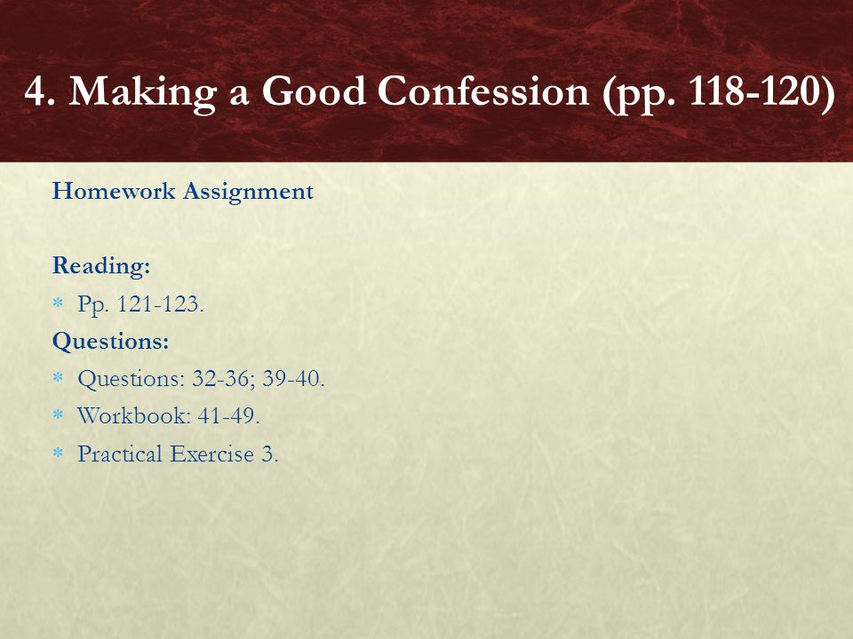 4. Making a Good Confession (pp. 118-120)