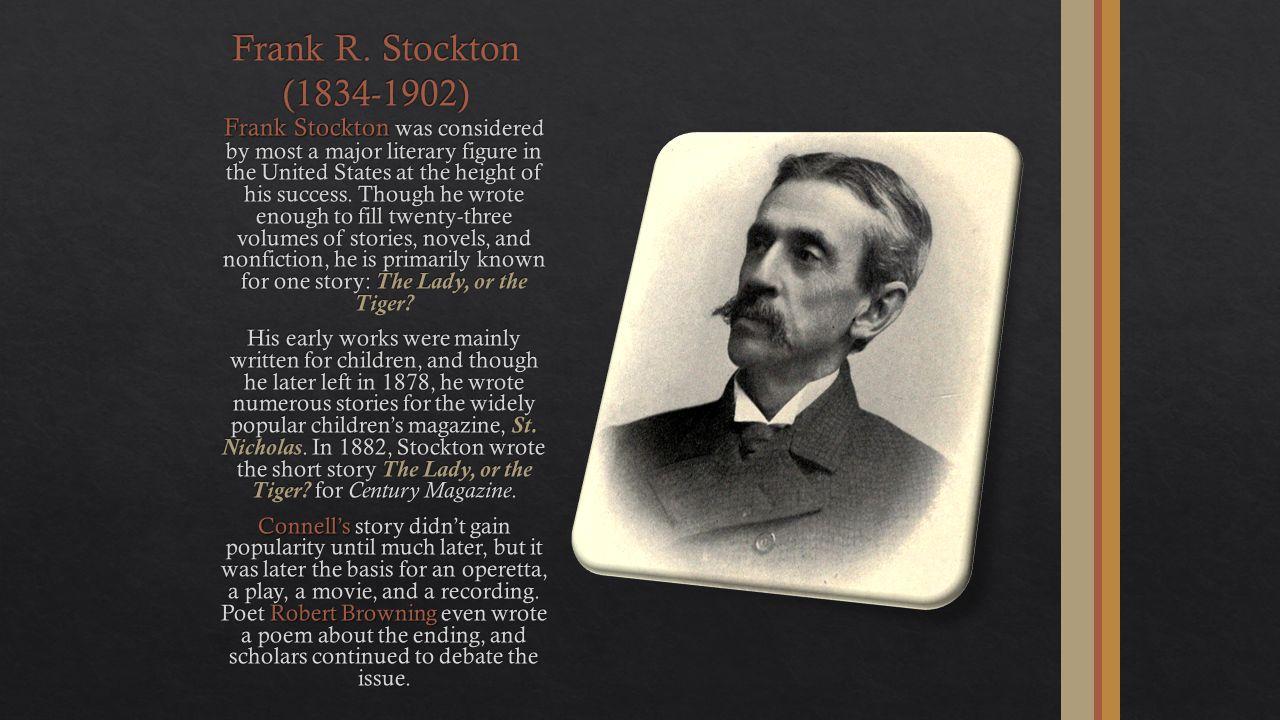 Frank R. Stockton (1834-1902)