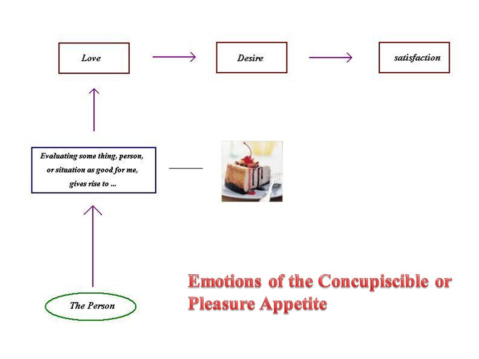 Emotions of the Concupiscible or
