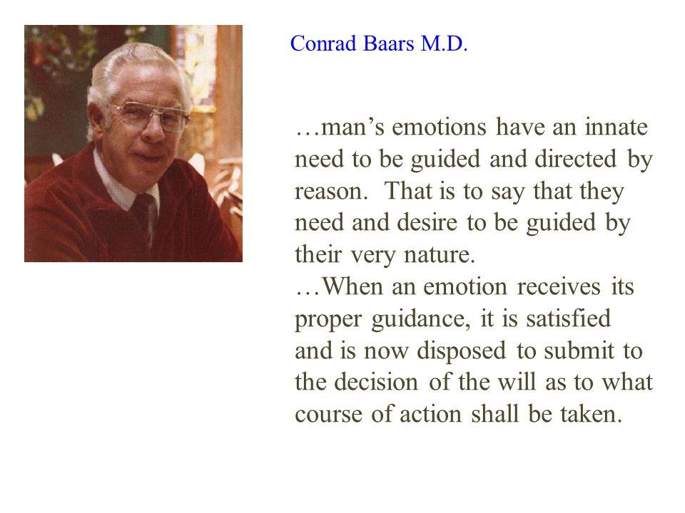 Conrad Baars M.D.