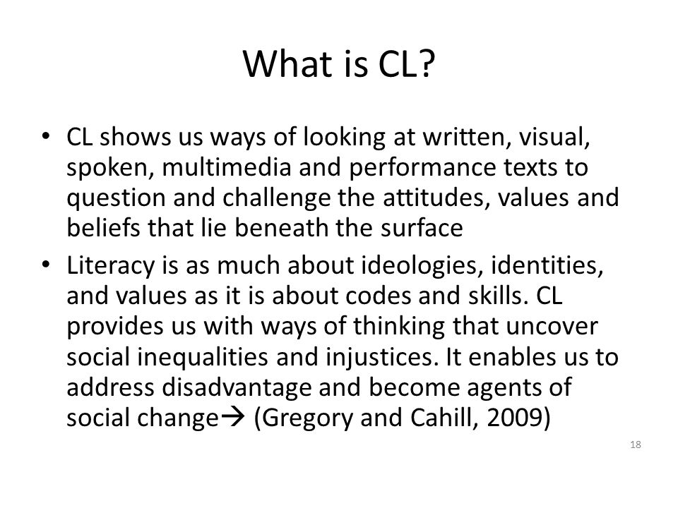 What is CL