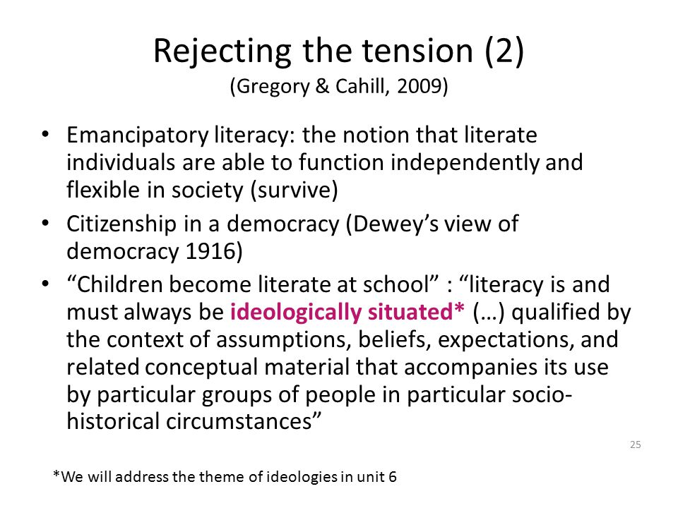 Rejecting the tension (2) (Gregory & Cahill, 2009)